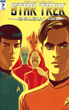 Star Trek Boldly Go #7 Cover A Regular George Caltsoudas Cover
