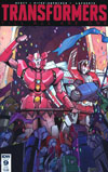 Transformers Till All Are One #9 Cover B Variant Priscilla Tramontano Subscription Cover