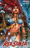 Red Sonja Vol 7 #4 Cover B Variant Jonboy Meyers Cover