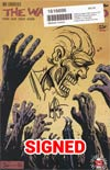Walking Dead #163 Cover E DF Signed & Remarked With A Zombie Or Character Hand-Drawn Sketch By Ken Haeser (Filled Randomly)