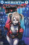 DF HARLEY QUINN #1 AOD COLLECTIBLES COLOUR WITTER EXC (C: 0-