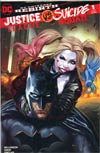 Justice League vs Suicide Squad #1 Cover K DF AOD Collectables Exclusive Ashley Witter Color Variant Cover