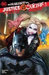 Justice League vs Suicide Squad #1 Cover L DF AOD Collectables Exclusive Ashley Witter Color Variant Cover Signed By Josh Williamson