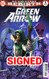 Green Arrow Vol 7 #1 Cover D 2nd Ptg Variant Juan Ferreyra Cover Signed By Benjamin Percy (Limit 1 Per Customer)