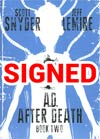 AD After Death Book 2 Cover B Signed By Scott Snyder (Limit 1 Per Customer)
