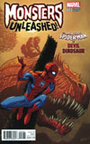 Monsters Unleashed #3 Cover G Incentive Ed McGuinness Monster vs Hero Variant Cover