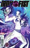 Iron Fist Vol 5 #1 Cover C Midtown Exclusive J Scott Campbell Anti-Venomized Negative Colors Variant Cover