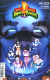 Mighty Morphin Power Rangers (BOOM Studios) #15 Cover A Regular Jamal Campbell Cover