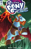 My Little Pony Legends Of Magic #2 Cover B Variant Zachary Sterling Subscription Cover
