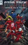 Star Trek Boldly Go #8 Cover B Variant Vincenzo Federici Subscription Cover