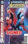 Action Comics Vol 2 #976 Cover C DF Signed By Dan Jurgens (Superman Reborn Part 4)