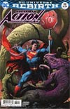 Action Comics Vol 2 #981 Cover B Variant Gary Frank Cover