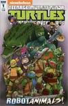 Teenage Mutant Ninja Turtles Amazing Adventures Robotanimals #1 Cover B Variant Billy Martin Subscription Cover