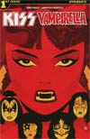 KISS Vampirella #1 Cover A Regular Juan Doe Cover