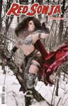Red Sonja Vol 7 #6 Cover D Variant Cosplay Photo Cover