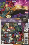Deadpool Vol 5 #32 Cover B Variant Scott Koblish Secret Comics Cover (Secret Empire Tie-In)