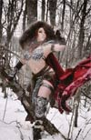 Red Sonja Vol 7 #6 Cover F Incentive Cosplay Photo Virgin Cover