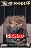 Walking Dead #167 Cover B DF Blood Red Signature Series Signed By Stefano Gaudiano