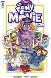 My Little Pony Movie Prequel #2 Cover A Regular Andy Price Cover