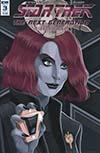 Star Trek The Next Generation Mirror Broken #3 Cover B Variant George Caltsoudas Cover