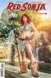 Red Sonja Vol 7 #7 Cover D Variant Cosplay Photo Cover