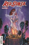 Red Sonja Vol 7 #7 Cover E Variant Mel Rubi Subscription Cover