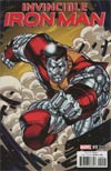 Invincible Iron Man Vol 3 #9 Cover B Variant Jim Lee X-Men Trading Card Cover