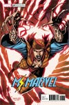 Ms Marvel Vol 4 #20 Cover B Variant Jim Lee X-Men Trading Card Cover