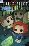 X-Files Funko Universe Cover C Incentive Troy Little Variant Cover