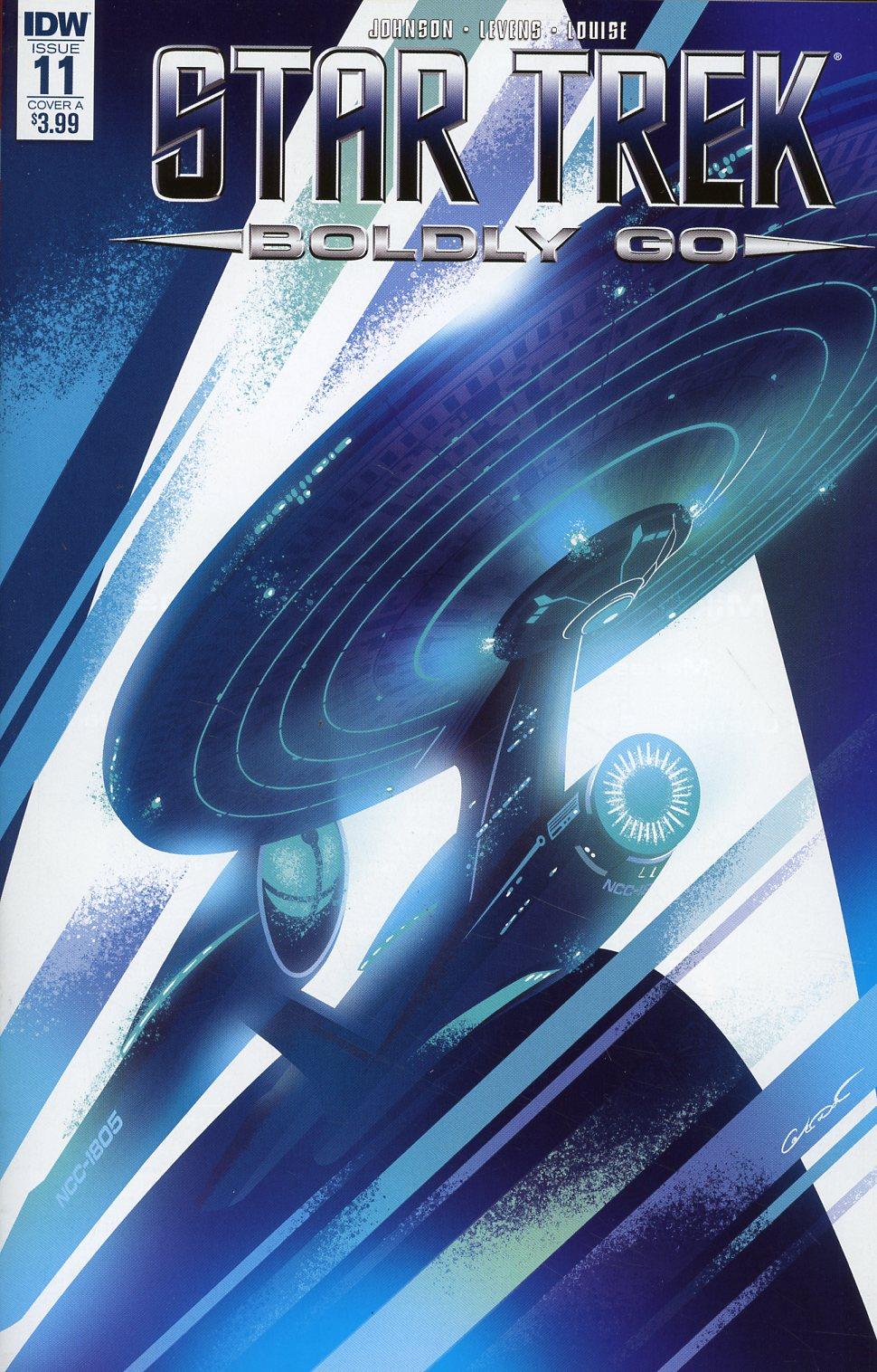 Star Trek Boldly Go #11 Cover A Regular George Caltsoudas Cover