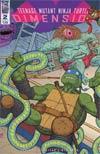 Teenage Mutant Ninja Turtles Dimension X #2 Cover A Regular Nick Pitarra Cover