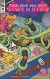 Teenage Mutant Ninja Turtles Dimension X #4 Cover A Regular Nick Pitarra Cover