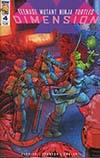 Teenage Mutant Ninja Turtles Dimension X #4 Cover B Variant Chris Johnson Cover