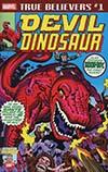 True Believers Jack Kirby 100th Anniversary Avengers Devil Dinosaur #1