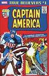 True Believers Jack Kirby 100th Anniversary Captain America #1