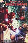Invincible Iron Man Vol 3 #10 Cover B Variant Joe Ng Marvel vs Capcom Cover