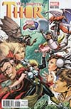 Mighty Thor Vol 2 #22 Cover B Variant Joyce Chin Marvel vs Capcom Cover