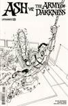 Ash vs The Army Of Darkness #2 Cover E Incentive Mauro Vargas Black & White Cover