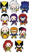 X-Men Laser Cut Figural Keyring Blind Mystery Box