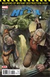Totally Awesome Hulk #19 Cover B 2nd Ptg Jeon Woo Seok Variant Cover (Weapons Of Mutant Destruction Prelude)