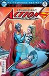 Action Comics Vol 2 #988 Cover B Variant Nick Bradshaw Non-Lenticular Cover