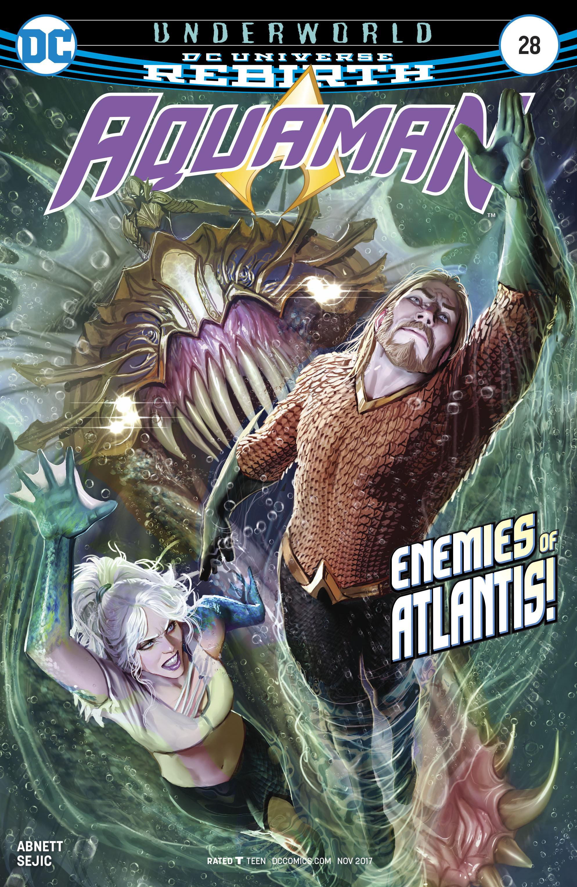 Aquaman Vol 6 #28 Cover A Regular Stjepan Sejic Cover