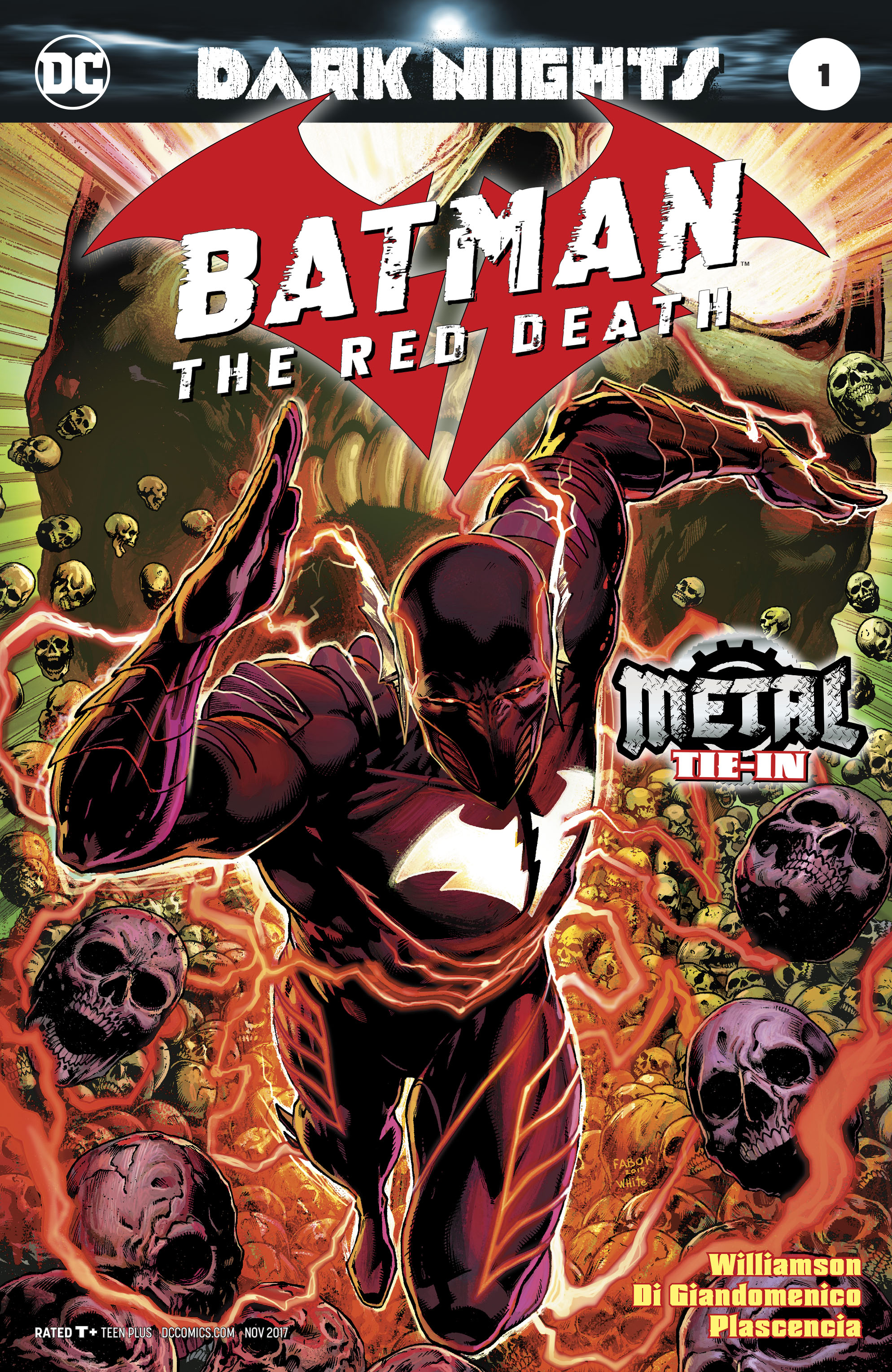Batman The Red Death #1 Foil-Stamped Cover (Dark Nights Metal Tie-In)