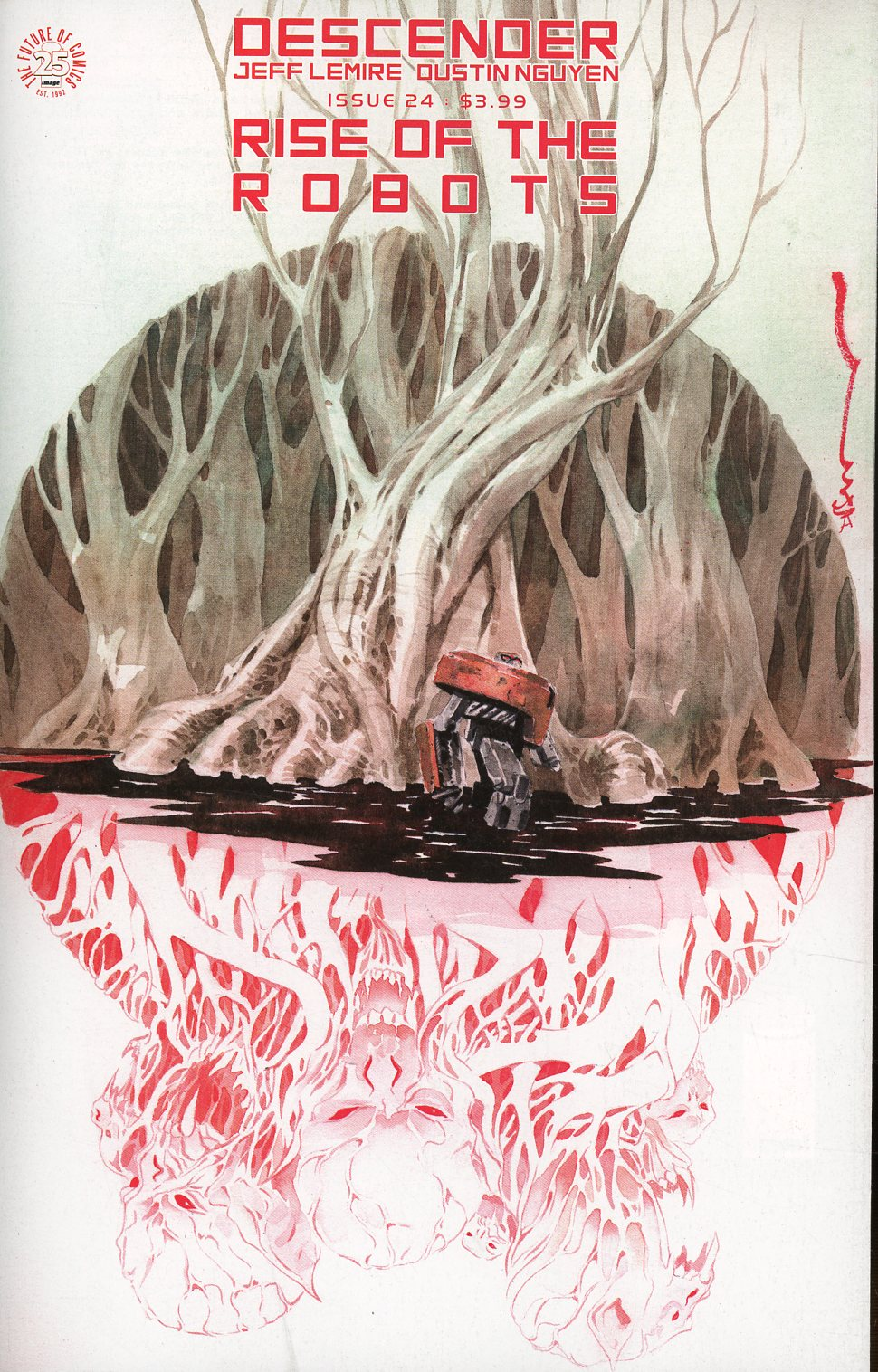 Descender #24 Cover A Regular Dustin Nguyen Cover