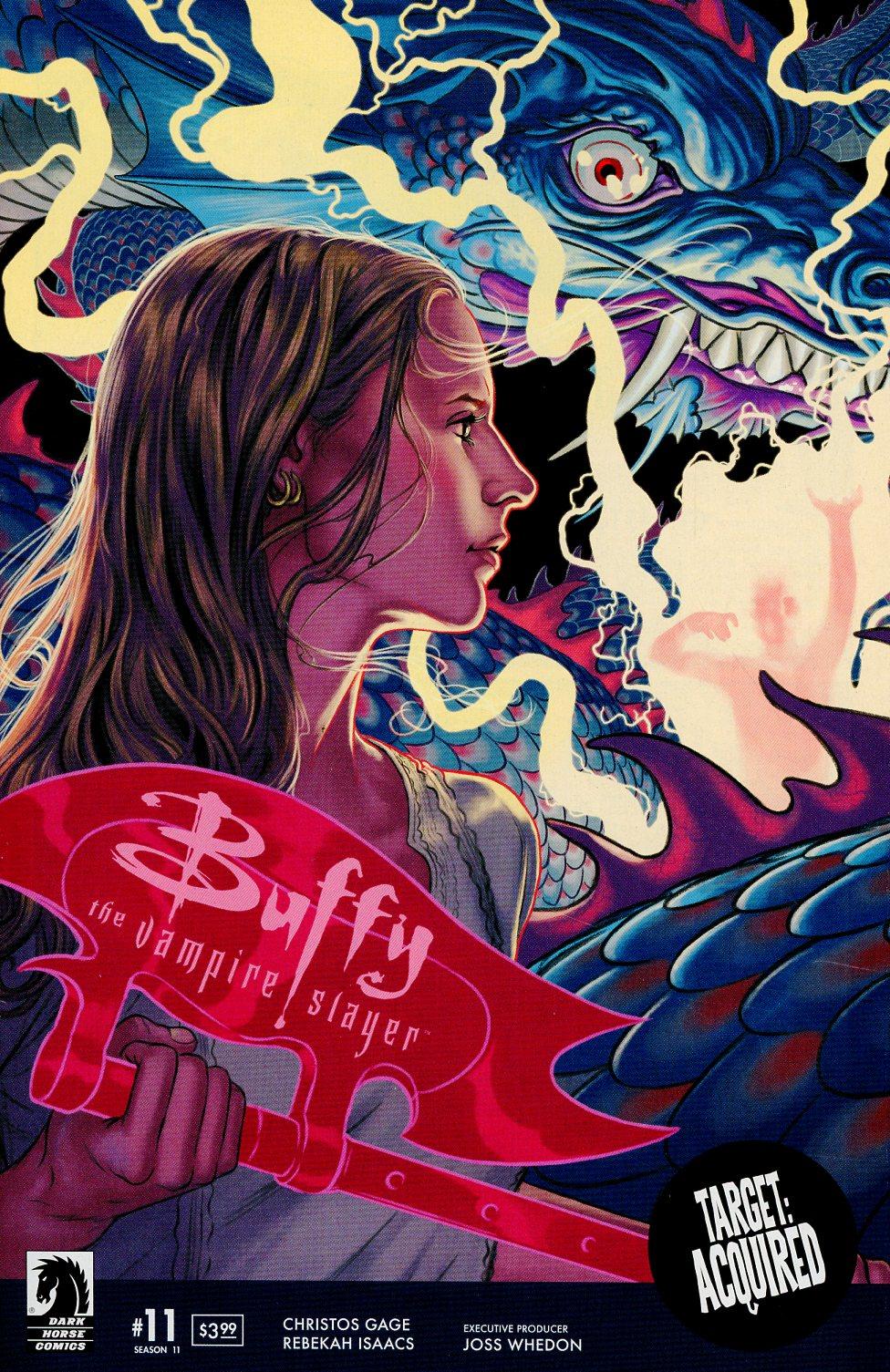 Buffy The Vampire Slayer Season 11 #11 Cover A Regular Steve Morris Cover