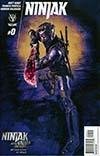 Ninjak Vol 3 #0 Cover D Variant Ninjak vs The Valiant Universe Cover