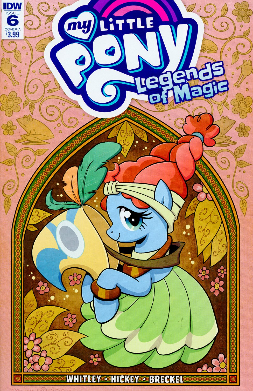 My Little Pony Legends Of Magic #6 Cover A Regular Brenda Hickey Cover