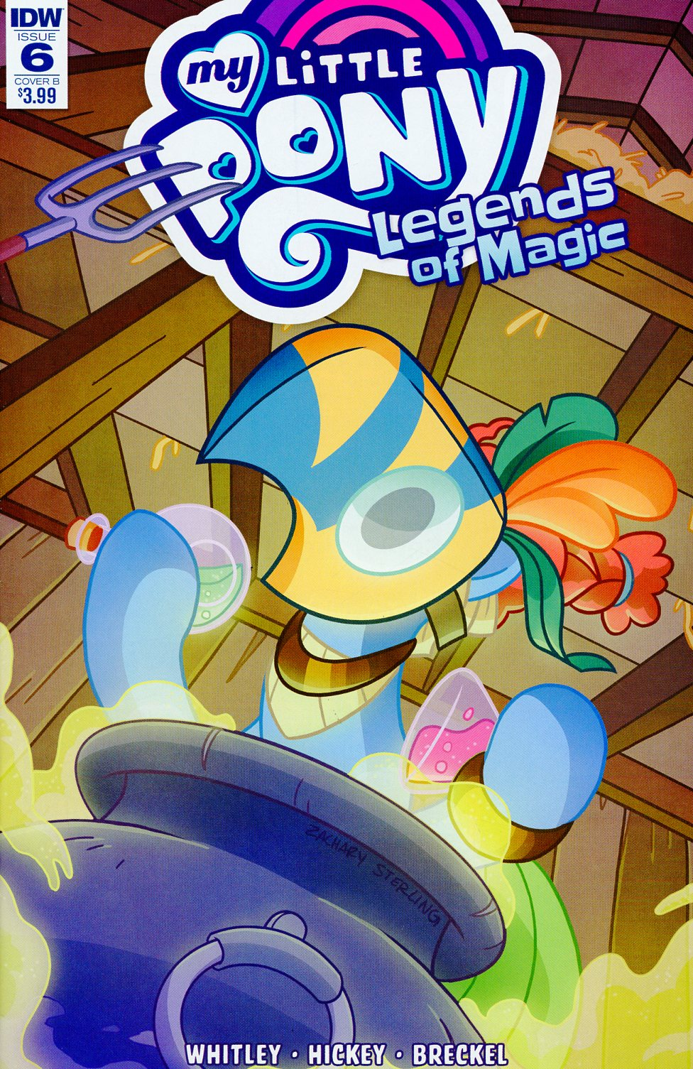 My Little Pony Legends Of Magic #6 Cover B Variant Zachary Sterling Cover