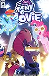 My Little Pony Movie Prequel #4 Cover B Variant Tony Fleecs Cover