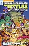 Teenage Mutant Ninja Turtles Amazing Adventures Robotanimals #3 Cover A Regular Chad Thomas Cover